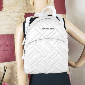 Michael Kors Abbey Medium Quilted  BackpacK